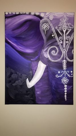 Purple Ivory