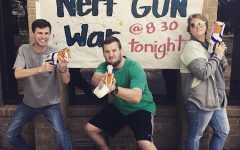 Nerf War at the Baptist Student Union