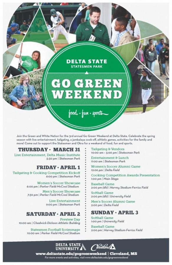 Flyer from the Delta State University website.