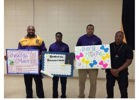 Upsilon Delta Delta Chapter of Omega Psi Phi Fraternity, Incorporated Hosts Scholarship Matters Poster Contest