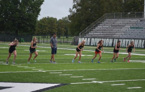 Cross Country Girls' Determination to Improve