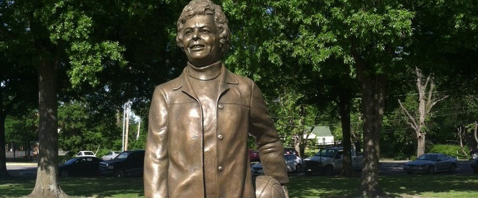 Margret Wade Statue, Located in front of Kentt Wyatt Hall.