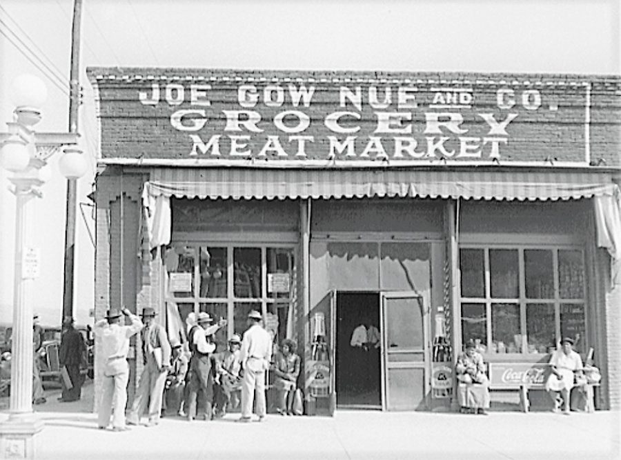 Joe+Gow+Nue+Grocery+Store+in+Greenville%2C+Mississippi%2C+1930s