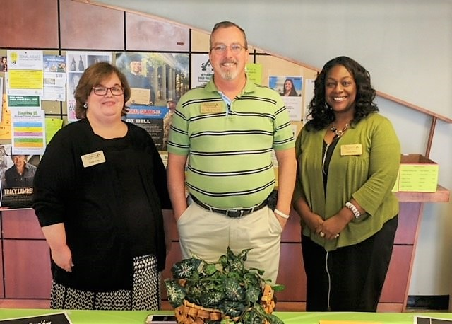 DSU Counselors: Paula King, Dr. Richard Houston, and Deidra M. Byas