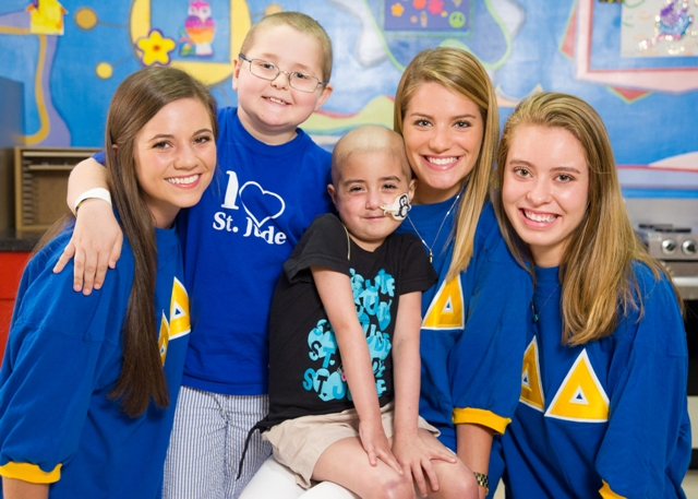 Tri Delta has raised over $55M for St. Jude since their philanthropic partnership began.