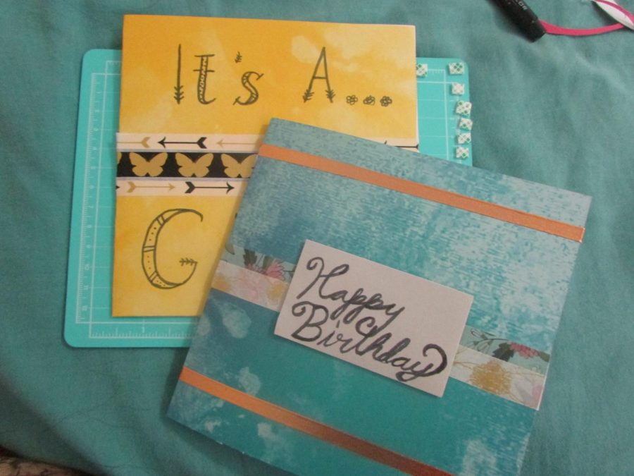 Cards can be made differently for different occasions, just personalize it!