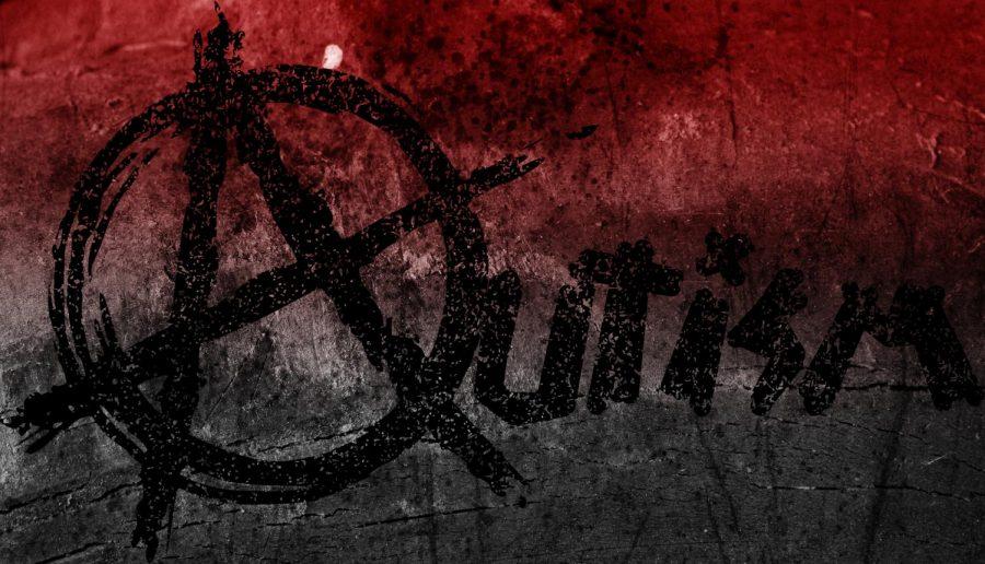 Anarchy symbol autism logo