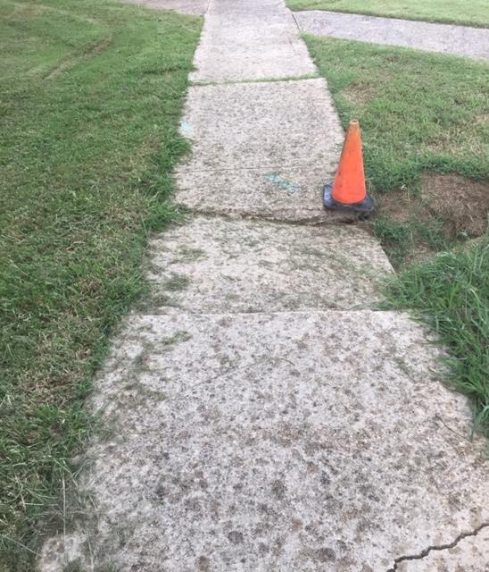 Beware of the Sidewalks!