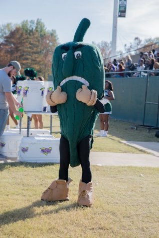 The Fighting Okra believes in you! (credit: Delta State Twitter)