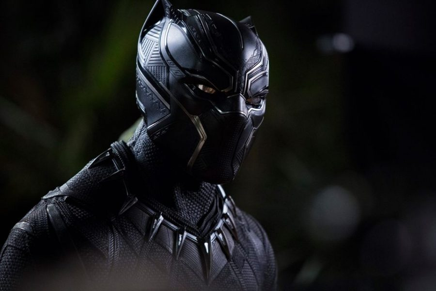 Black Panther (credit to the Official Black Panther Movie Facebook Page)